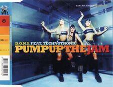 D.O.N.S. ft TECHNOTRONIC - Pump up the jam 5TR CDM 1998 HOUSE