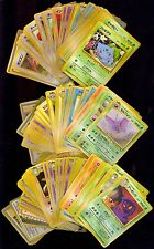 JAPANESE POKEMON VENDING SERIES 1,2,3 GLOSSY SET RARE MINT 125 CARDS COMIC KINGS