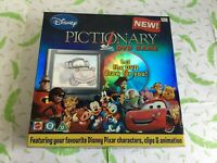 Mattel Disney Pictionary DVD Game - complete - XMAS day fun