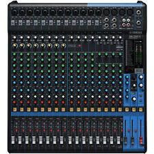 Yamaha mg20xu - 20 canal Studio mesa de mezclas mezclador pa escenario-OVP & nuevo