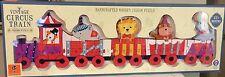 Orange Tree Toys Vintage Circus Train Wooden Jigsaw Alphabet Puzzle Brand New