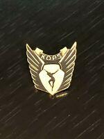 Collectible Vintage KOPS Metal Pinback Lapel Pin Hat Pin