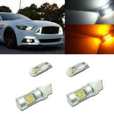 For 2015-up Ford Mustang as Turn Signal Lights & DRL Switchback 28-SMD LED Kit