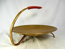 Well shaped/formschöme 50´s design WMF anbietschale Ottone/Brass Bowl 25cm
