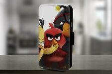 Angry Birds Magnética de Cuero Abatible Billetera Teléfono Estuche Cubierta
