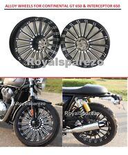 "Royal Enfield ""GT 650 & INTERCEPTOR 650"" Erado Harley Style ALLOY WHEELS"