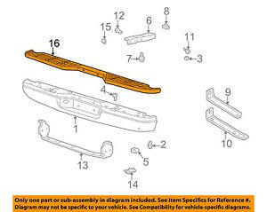 MAZDA OEM B4000 Rear Bumper-Step Pad Protector Scratch Guard Cover 1F705024Y