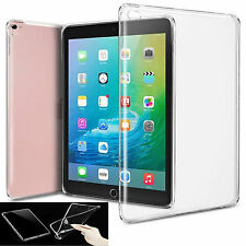 ShockProof Transparent Clear Soft TPU Gel Back Case Cover forApple iPad Pro 9.7""
