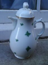 VINTAGE CONTINENTAL PORCELAIN CHINA COFFEE CHOCOLATE POT & COVER LID