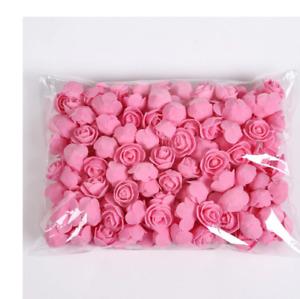 50/100/200 Pieces Teddy Bear of Roses 3cm Foam Wedding Decorative Christmas D