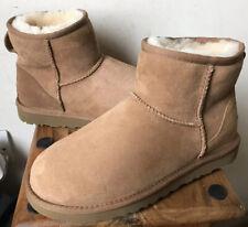 Ladies UGG Classic Mini Classic II Chestnut Boots - Size 6.5 (39) NEW