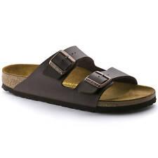 Birkenstock ARIZONA BF 51701 Men's Sandals Flip-Flop Casual Brown Birko-Flor
