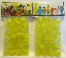 2 Bags Of Sesame Street Children's TV Show Promo Marbles