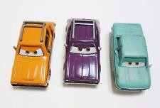 Lot of 3 Disney Cars 2 Diecast Vehicles - Grem  J. Curby Gremlin  Petrov Truckov