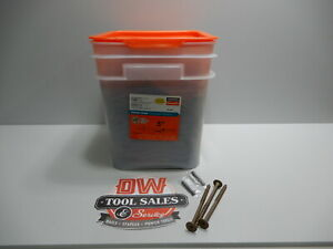 """SIMPSON STRONG TIE TIMBER SCREW 5"""" (25) COATED WASHER HEAD"""
