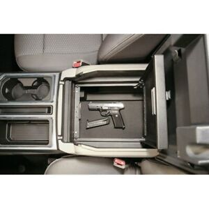 CENTER CONSOLE SAFE - LOCK VAULT 317-01 For: FORD F-250 SUPER DUTY 2017-2021