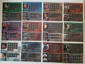 Star Wars Epic Duels Replacement Character Chart Set of 12