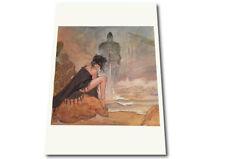 DAMA del Lago Grande erotico poster da Milo Manara