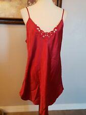 Secret treasures XL Chemise Lingerie Red Slip Sleepwear Pj Gown