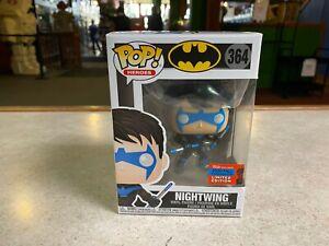 Funko POP! NIB DC Super Heroes 2020 NYCC Fall Convention Batman NIGHTWING #364
