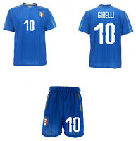 Completo Italia Girelli Maglia + Pantaloncini FIGC  Mondiali 2019 femminile
