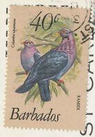 "BARBADOS, 1982, superb used coloured pc ""Sandy Lane Beach, St. James, Barbados"""