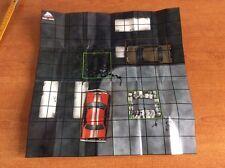 HeroClix DC Batman Alpha Map CRIMES SQUARE  MICRO DICE  MAPPA + 2 MICRO DADI