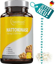 Nattokinase ? AKTION ? 290 Kapseln Vegan XXL Dose 100mg  2000 FU - Made in DE