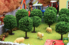 BRUSHWOOD TOYS BT3025 1:32 SCALE ORCHARD TREES DIORAMA (10) (MIB)