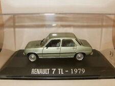 RENAULT 7 / R7 TL SIETE Type R5 VERTE de 1979 au 1/43