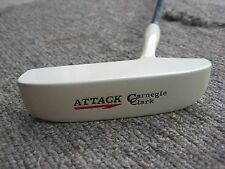 Carnegie Clark putter. ATTACK. Right Hand. Used. Restored head. 3175