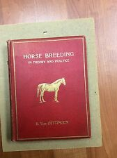 Horse Breeding in Theory and Practice Von Oettingen