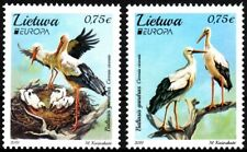 LITHUANIA 2019-06 EUROPA: National Birds. White Stork, MNH