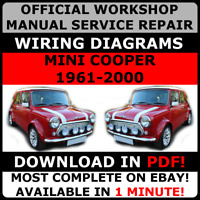 # OFFICIAL WORKSHOP Service Repair MANUAL MINI COOPER 1961-2000#