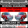 OFFICIAL WORKSHOP Service Repair MANUAL MINI COOPER 1961-2000