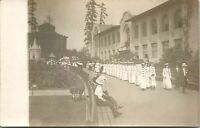 RPPC Alaska-Yukon-Pacific Exposition Maccabees Parade by Machinery Hall