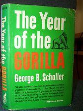 The Year of the Gorilla, By Schaller, 1964, Tshiaberimu Mountain, Batwa, Bantu