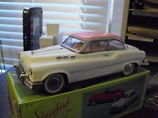 Vintage 1970s Large Pink and White Friction Standard Sedan Car Nib Mf322