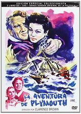 Plymouth Adventure (1952) DVD + Soundtrack CD * Spencer Tracy Region 2 (UK) DVD