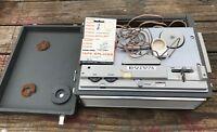 Vintage Lafayette Radio RK-137 TUBE Reel to Reel Player Recorder Made in Japan
