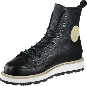 Crafted Boot Chuck Taylor Converse Unisex Boot Black  Men's 9 Women's 10.5