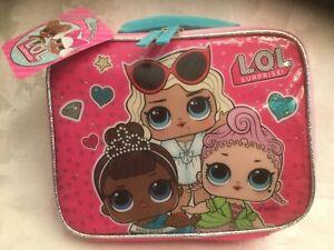 Lunchbox Bag LOL Surprise School HI BAE! NEW Insulated Pink Girls MGA Polka Dots