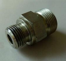 Adapter; gerader Verbinder; Verschraubung Außengewinde M18x1,5 auf M24 x 1,5