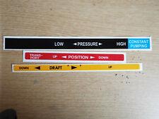 Massey Ferguson 135 148 165 175 178 185 188 hydraulic sticker pressure control