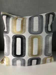 """14""""/16""""/18""""/20"""" Square Cushion Cover in Elements Dahl Ochre"""