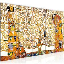 WANDBILDER Gustav Klimt - Tree of Life VLIES LEINWAND BILD - XXL BILDER KUNSTDRU