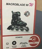Rollerblade 2015 MACROBLADE 90 High Performance Fitness/Training Size 39