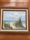 """Vintage Oil Painting Seascape Art 8""""x 10"""""""