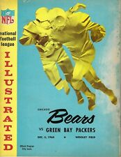 1964 12/5 NFL Football Program, Green Bay Packers @ Chicago Bears FAIR-