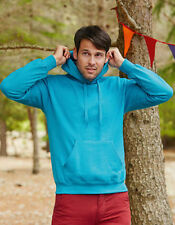 Fruit of the Loom Men's Plain Hoodies & Sweats